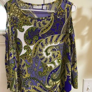 Beautiful paisley colored top